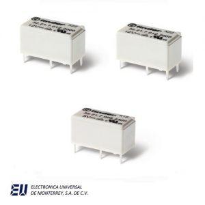 Serie 32 - Mini-relé para circuito impreso 6 A