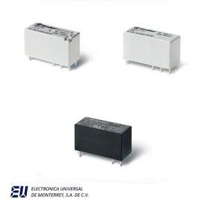 Serie 41 - Mini-relé para circuito impreso 8 - 12 - 16 A