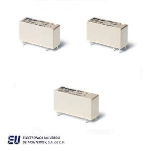 Serie 43 - Mini-relé para circuito impreso 10 - 16 A