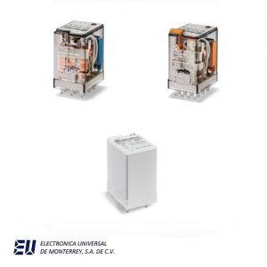 Serie 55 - Relé industrial 7 a 10 A