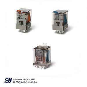 Serie 60 - Relé industrial 6 - 10 A
