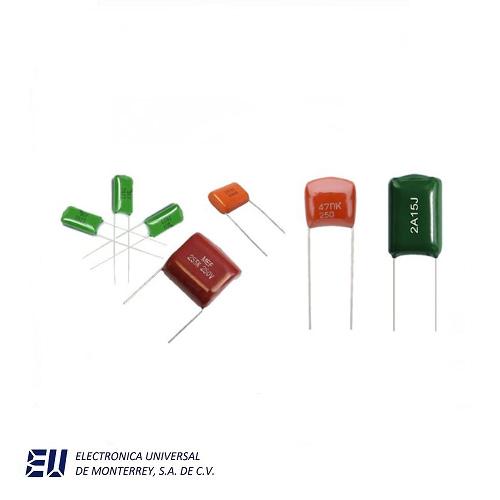 capacitores de poliester